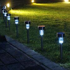 Nouvelle Lumière Solaire à LED en Extérieur Jardin Paysage de Pelouse Avec Lampe