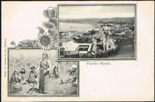 496 Chile Puerto Montt Mapuche Indian Undivided Postcard