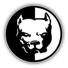 """Pitbull Dog Car Bumper Window Tool Box Sticker Decal 4.5""""X4.5"""""""