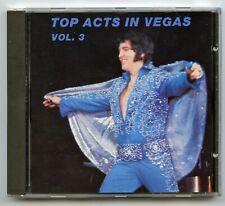 Rare Elvis Presley CD - Top Acts In Vegas Vol. 3 - Las Vegas 8/16/72 - Import