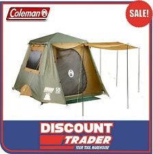 Coleman 1508030 Gold Series 6 Person Instant Up Camping Tent Full Fly 6P