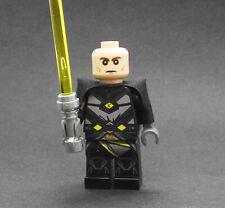 Custom Thexan Star Wars SWTOR jedi minifigures on lego bricks