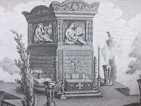 Nancy 1790 Camille Desmoulins Gravure ancienne Révolutions de France et Brabant