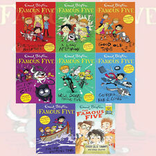 Enid Blyton's Famous Five Short Stories Series 8 Books Collection Good Old Timmy