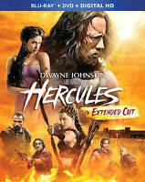 HERCULES STARS DWAYNE JOHNSON  EXTENDED BLU-RAY & DVD & DIGITAL HD 2 DISC SET