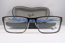 Ray-Ban RB 8415 2862 Copper/Blue Carbon Fiber New Eyeglasses 53mm w/Case