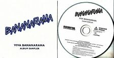 BANANARAMA Viva Bananarama Album Sampler 2009 UK numbered 5-track promo only CD