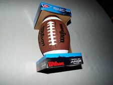 New Ncaa Soft Tack Football Wilson Football Size Junior Ages 9 & Up Read!