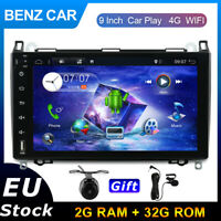 DAB+Autoradio For Mercedes Benz A/B Class Sprinter Vito Android 10.0 GPS 4G WIFI