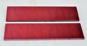 "KIRINITE RIOJA PEARL 1/4"" Scales for Knife Making Woodworking Bushcraft Inlays"