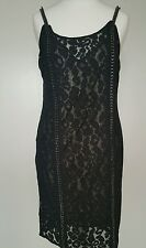 Bnwt Allsaints Asha dress.chain detail.embellished.uk 8 £278.**ON OFFER**