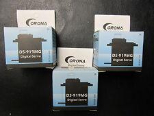 3X .06s DIGITAL METAL GEAR SERVOS Blade 300 CFX X 400 450 3D T-Rex DFC E325 BNF