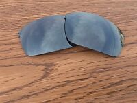 Inew Black Iridium polarized Replacement Lenses for Oakley Wiretap