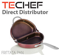 TECHEF - Frittata and Omelette Pan with New Teflon Select Nonstick Coating