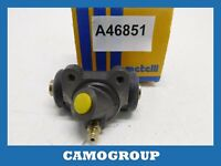 Cylinder Rear Brake Rear Wheel Cylinder Metelli RENAULT 25 30 040588