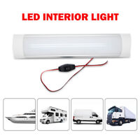 LED Interior Strip Lights Bar For Car Caravan Camper Motorhome Truck White 24V
