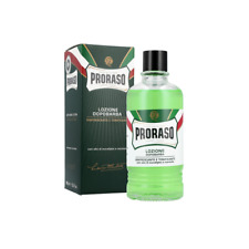 Proraso Green Line Menthol and Eucalyptus Aftershave Lotion 400ml [13.5 fl. oz.]