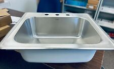 """Revive Top Mount SS Kitchen Sink 3-Hole 25""""x22""""x9"""" REV-2522ST-9-3 *PRICE UPDATE*"""