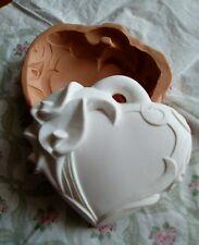 Stampo cuore calla  9x8 in  silicone per gessetto gessetti bomboniera segnaposto