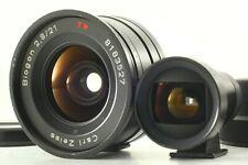 🔹N MINT+++🔹 Contax Carl Zeiss G Biogon 21mm f2.8 Black w/ Finder GF-21mm Japan
