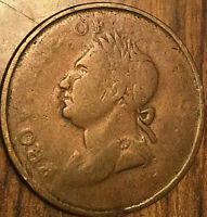 1832 NOVA SCOTIA HALF PENNY TOKEN - Imitation
