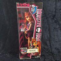 Monster High Toralei Stripe Coffin Bean Doll Werecat Doll NEW NRFB