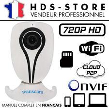 WANSCAM HW0026 CAMERA IP WIFI VISION NIGHT IR HD 720P MICRO SD 64 GO MAX WDR