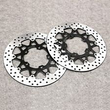 Front Brake Disc Rotors Fit For Suzuki GSXR600/750 2006-2007 GSXR1000 2005-2008