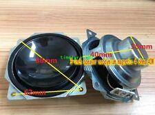 "2pcs 3"" inch 4Ohm 4Ω 40W Bass horn Neodymium Speaker Loudspeaker"