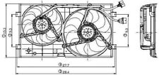 Engine Cooling Fan Assembly Global 2811558