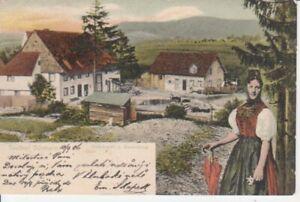 Bad Dürrheim Volkstracht und Bauernhaus gl1906 206.820