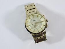 FOSSIL FS4428 Herren Chronograph Armbanduhr Uhr Gold Ø4,5cm