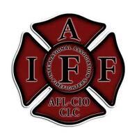 2 pack Firefighter Red Maltese Cross IAFF Fireman Sticker Fire Truck Decal