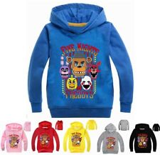 Five Nights at Freddy's Girls Boy Kids Hooded Tops Casual T-shirt Hoodie Clothes