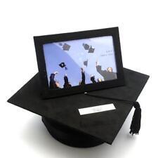 Personalised Hat Style Graduation Gift Keepsake Box Photo Frame FL11564-P