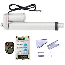 Linear Actuator 10 Inch Stroke Dc 12v With Wireless Remote Control Bracket Set