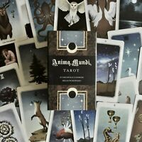 Anima Mundi Tarot Deck, 78 Card Deck With Guide Book, Occult Divination Cards,