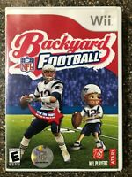 Backyard Football - Nintendo Wii - Clean & Tested Working - Free Shipping