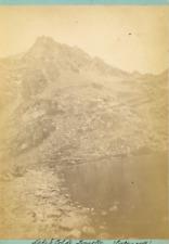 Canada, Cold Lake  Vintage albumen print.  Tirage albuminé  11x16  Circa 1