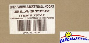 2012/13 Panini Hoops Basketball 20 Box Blaster Sealed CASE-Kawhi,Davis ROOKIE YR
