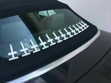 AUDI A4 Cabrio Heckscheibe kleben - Reparatur Set B Verdeck löst sich verkleben
