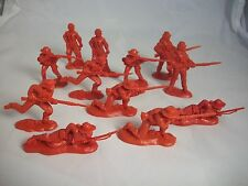 1/32 Civil War Confederate Rebel Toy Soldiers, 54MM plastic 12 in 6 poses - R.B.