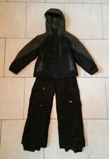 EUC COLUMBIA snow jacket KEMPER board pants waterprf insulated boys 8 ski suit