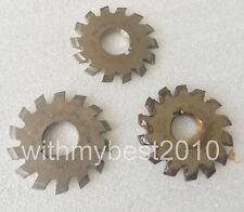 HSS Module 5 30 ° PA #5 Cutting Range 26-34 Teeth M5 Involute Gear Cutter Lot