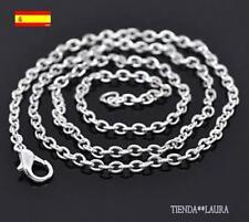 cadena 50 cm de largo con plata se envia desde España 1 unidad