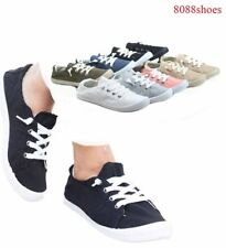 Women's Causal Slip On Flat Heel Round Toe Sneaker Shoes All Size 5.5 - 11 NEW