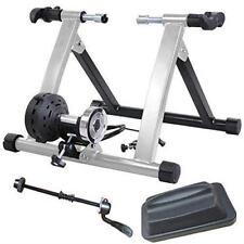 Healthline Varispeed Silver Magnetic Bike Turbo Trainer