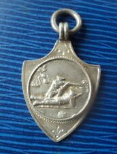 Vintage Sterling Silver Rifle Shooting Fob Medal  1943  - HQ Coy  6 D.H.G.