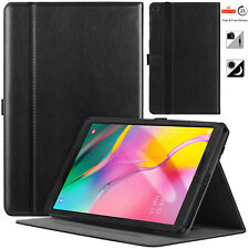 """Brand New GENUINE LEATEHR Case Cover For Samsung Tab A10.1"""" T515/T510 (2019)"""