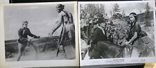 "2 VINTAGE 8""X10"" PHOTO JOHN ERICSON OREGON PASSAGE LOLA ALBRIGHT COWBOY INDIAN B"